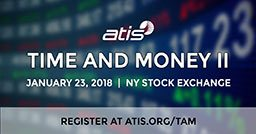 Time and Money II: January 23, 2018 at the New York Stock Exchange