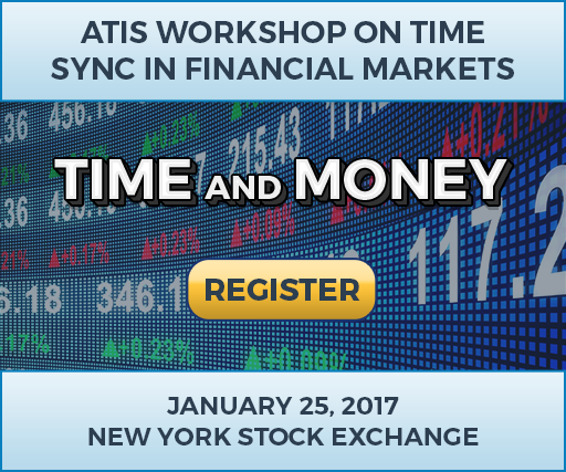 Time and Money: The ATIS Workshop on Timing in Financial Markets